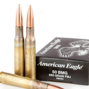 100 Rounds of 660gr FMJ